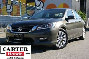 2013 Honda Accord EX-L + LEATHER + CERTIFIED 6YR/120000KMS!