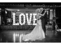 For Sale giant 4ft illuminated wedding party event vintage marquee led love lights sign letters