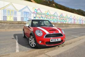 Mini cooper S 2007 58k miles FSH 12 month MOT very good condition Leather