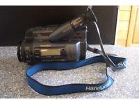 Sony video Hi8 Handycam plus video editing kit
