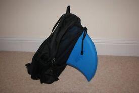 Swimfin swimming aid and Swimin rucksack Excellent condition