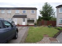 Coming soon. 3 bedroom end terrace house with garden in Bankton / Murieston