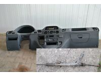 Left hand drive European dashboard and steering rack Mercedes Sprinter W901 - W905 1999 - 2005 LHD