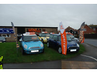 WE ARE MINI MAD LTD - LOCAL MINI SPECIALIST, SALES SERVICE AND REPAIRS - WE SERVICE ALL MAKES OF CAR