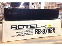 Rotel RB-970BX MkII Stereo Power Amplifier, Boxed