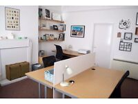 Part Time and Full Time Desk Spaces Available at Friendly Hove Office
