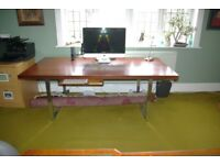 A multi-use Table - Boardroom / dining table, a writing desk, a conference table and and and….