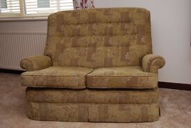 Parker Knoll two seater settee.