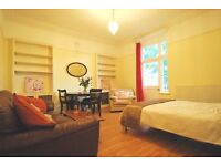 Large Master Bedroom, Own Balcony with Picturesque View - West Hampstead