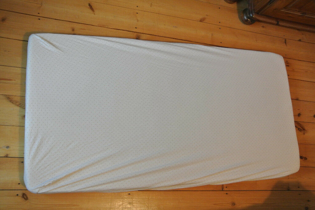 Cot sheets to fit 120 x 60cm mattress, cream, x3, Mothercare