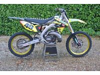 Suzuki RM 250 AF(2 stroke in an rmz chassis)-absolutely perfect- featured in moto magazine dec 2014