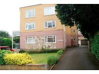 MODERN PART FURNISHED 2 DOUBLE BEDROOM FIRST FLOOR FLAT WITH BALCONY AND GARAGE IN ALUM CHINE