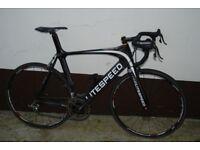 Litespeed Archon CR1 road bike, Campag Record, 6.5kgs