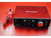 Focusrite Scarlett Solo (2nd Gen) USB Audio Interface £81