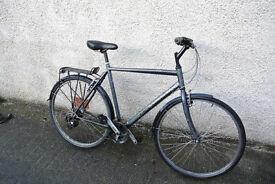 RIDGEBACK RAPIDE SPEED Gents Hybrid Bike, 21 Speed, Aluminium frame