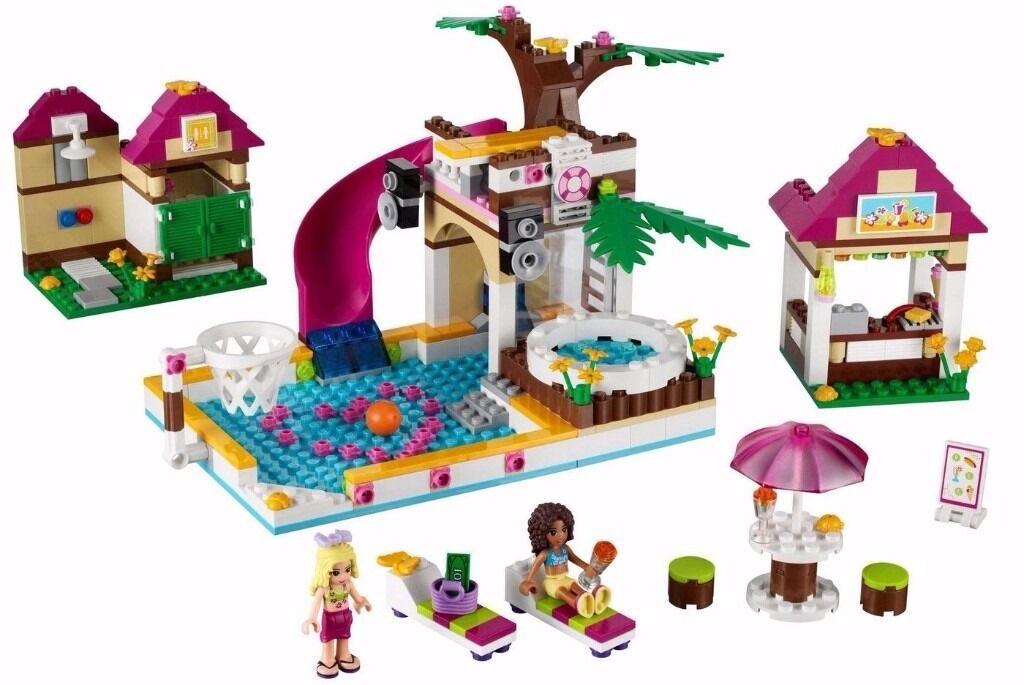 Lego Friends Heartlake City Pool 41008 In Wirral Merseyside Gumtree