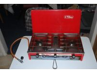 Camping equipment - two cooking stoves.