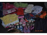 Baby girl clothes unisex over 40 items 12-24 months