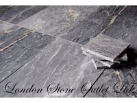 Corel Grey Honed Marble Tiles 60x30cm size