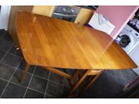 DROP LEAF DINING TABLE 1950s