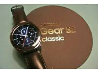 SAMSUNG GALAXY GEAR S2 CLASSIC SMART WATCH WITH HEART RATE MONITOR
