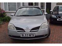 Diesel hatchback Nissan Primera - economical - good condition