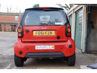 Mint condition Mercedes Benz SMART car £1095, Low Milage, MOT Jan 2017, FULL service history!