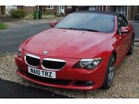 BMW 635D SPORT AUTO CONVERTIBLE DIESEL 2010 SUPERB AT £17295