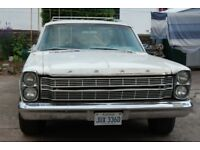1966 Ford Galaxie Ranch Wagon VERY RARE in White