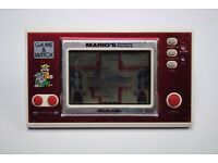 Nintendo Game&Watch Mario's Cement Factory ML-102 Working Retro £40.99