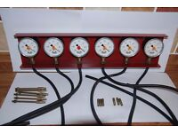 Davida System 6 Vacuum gauges