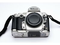 Nikon DF camera body (SILVER) with grip handle and extra batteries (Boxed) £995