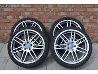 Audi, VW alloys with tyres