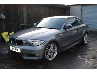 BMW 120d M SPORT COUPE LOW MILEAGE 2011