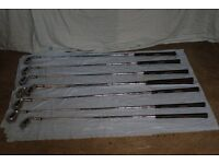 Large number of golf clubs (15)