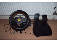 PC PS3 steering wheel