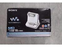 Sony MZ-N10 Walkman Portable MiniDisc Recorder Boxed Complete Grey £88