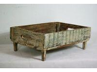 Beautiful Afghan Handmade teak wood Tray