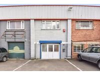 Warehouse for rent. Slough, Berks. 1550 sq ft. Office, 2 WC, kitchenette. Suitable many trades