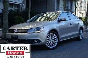 2012 Volkswagen Jetta 2.5L Highline NAVI + LEATHER! + MUST GO!!