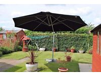 LARGE WIND UP AND DOWN PARASOL ONLY £195ono