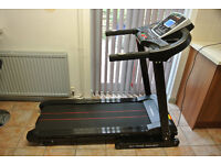 CONFIDENCE FITNESS GT-PRO FOLDING MOTORISED ELECTRIC TREADMILL RUNNING MACHINE