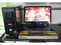 CiT Intel Pentium E5800, Samsung Monitor, Keyboard & Mouse