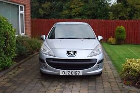 MARCH 2009 PEUGEOT 207 S HDI 90 with 1 full years MOT