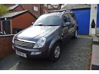 7 SEATER SUV SSANGYONG REXTON