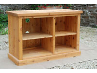 Solid Pine Media Unit - *Free Local Delivery