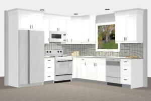 Spring Feature! Classic White Shaker Kitchen