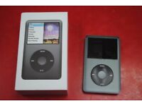 Apple iPod Classic 160GB 6th Gen Black Boxed £170