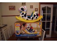 Little Tikes Toy Soft Rocking Cow