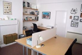 Part Time Desk Space Available in Friendly Hove Office